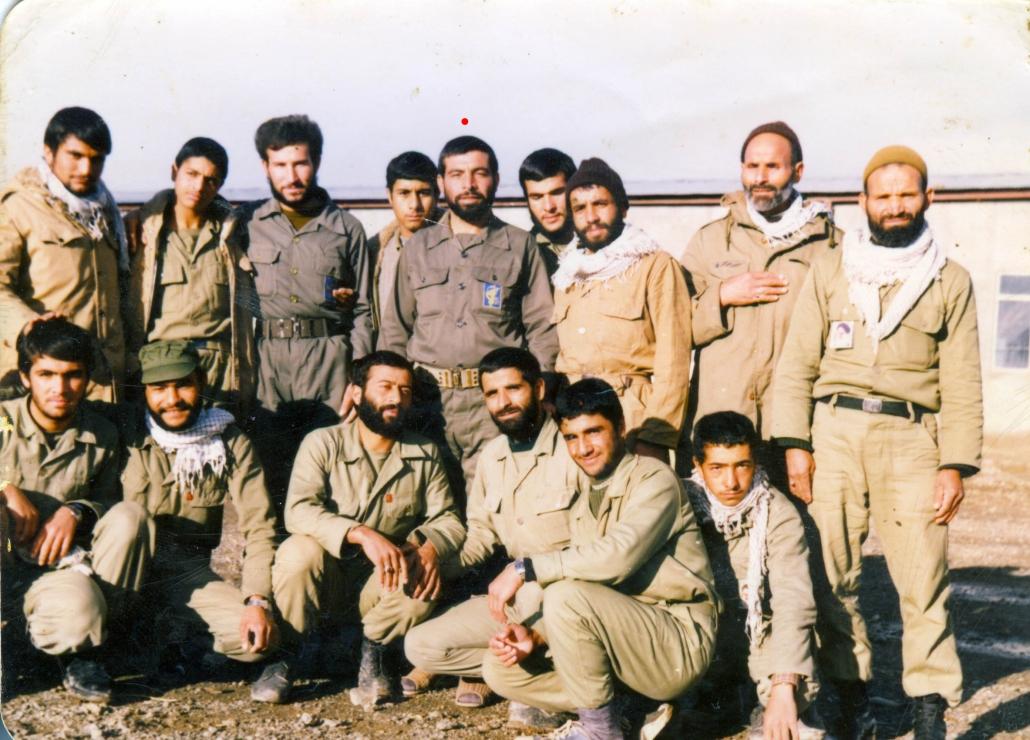 تصویر زمان جبهه شهید ابراهیمی